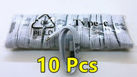 10x Lot Type C USB Data Fast Charger Cable for OEM Samsung Galaxy S8 S9 N8 NOTE9