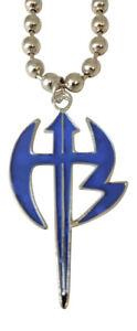 Jeff Hardy Blue Hardy Boyz Pendant Necklace WWE