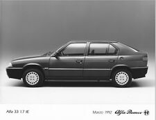PHOTO PRESS ORIGINALE ALFA ROMEO 33 1.7 I.E. - 3/1992