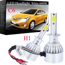For Vauxhall Vectra C 2002-2008 High Main Beam H1 LED Headlight Bulbs Pair Lamp