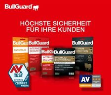 Bullguard Internet Security 1 PC, 1 Jahr 2019  Maximale Punktzahl in 2019