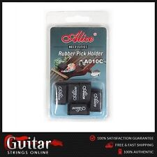 Alice A010cp Guitar Pick Holders - Black (pack of 5)