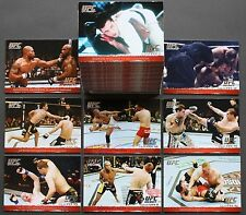2009 UFC ROUND 1 GOLD SET-RARE!! ONLY 432 OF EACH CARD MADE!!FEWER SETS EXIST!!