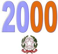 ITALIA Repubblica 2000 Singolo Annata Completa integri MNH ** Tutte le emissioni