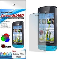 5 Pz. Screen Protector Film LCD Display for Nokia C5-03