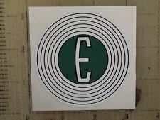 "Vintage Edsel ""E"" logo sticker decal 3"" diameter"