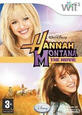 Hannah Montana The Movie Juego Nintendo Wii * Nuevo Sellado Pal *
