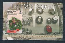 Virgin Is. 2008 90 yrs.of Remembrance S/S SG 1227 MNH
