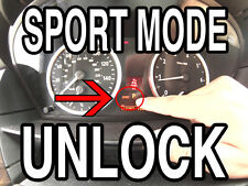 BMW E60 5 series sport mode unlock cable