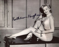 KATHLEEN HUGHES SIGNED 8x10 PHOTO IT CAME FROM OUTER SPACE BECKETT BAS