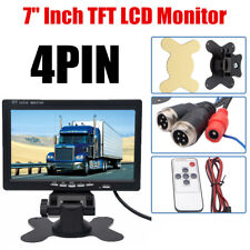 7 Zoll 2CH TFT LCD-Digital Color Screen-Monitor w/IR Remote für Auto Rückansicht