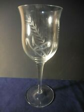 """Toscany """"Danube"""" Wine Glass Cut Wheat  7 3/8"""" Clear Replacement"""
