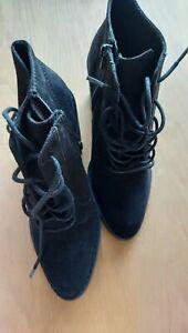 Rocket Dog Black Ankle Boots Size 4