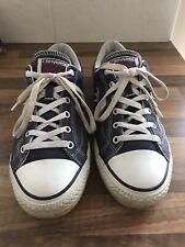 Converse Chuck Taylor All Star Zapatos Azul tamaño de Reino Unido 8