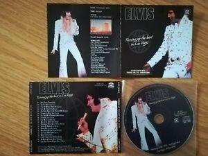 Elvis Presley CD – Turning Up The Heat In Las Vegas
