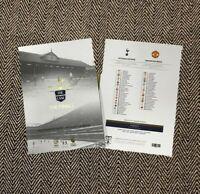 Tottenham Hotspur Spurs v Manchester United White Hart Lane Finale Programme '17
