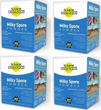 (4) St Gabriel Organic 80040-6 40 oz Milky Spore Concentrate Grub Control Powder
