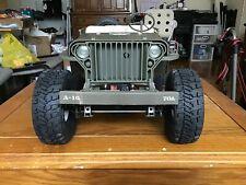Hasbro Gi Joe Jeep Willys 1:6 1/6 scale RC Crawler