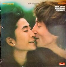 John Lennon - yoko ono - Milk And Honey Vinyle Excellent état