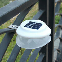 Waterproof 9 LED Sensor Control Solar Powered Light Outdoor Garden Fence