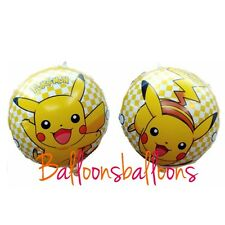 "18"" Pokemon  Balloon Helium Party Birthday Decoration Pikachu"