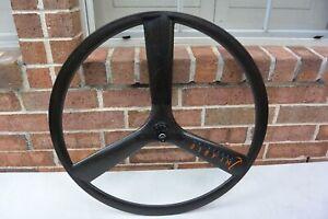 Rear Nimble Tri Spoke Wheel 700c Tubular Rim Brake Shimano/Sram 9/10 Speed