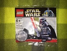 LEGO STAR WARS VERY RARE CHROME DARTH VADER POLYBAG PROMO SEALED - NEW