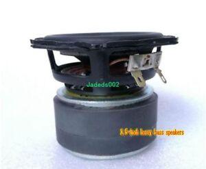 "1pcs 2.5""inch 80mm 4Ω Long-stroke subwoofer Woofer 4ohm speaker loudspeaker"
