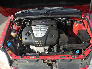 2004 Kia Rio 5 Door A5D Engine S/N# V7025 BJ9172