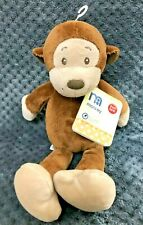 """Mothercare Brown Monkey Chimp 11"""" Soft Toy Beanie Bottom MC414 New Tags Rare"""