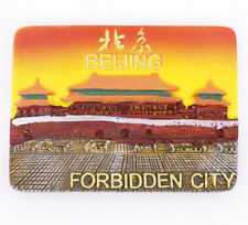 "The New 3D Fridge Magnet ""Tiananmen "" China Travel Souvenir Brand New 5*7CM"