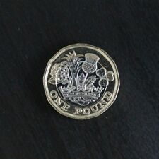 2016 Bi-Metallic £1  One Pound Coin in Uncirculated Condition - Brand New