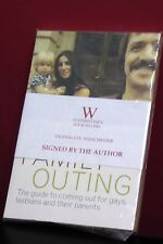 Family Outing by Bono Chastity Signed Copy of Book 9780330377355 New Sonny Cher