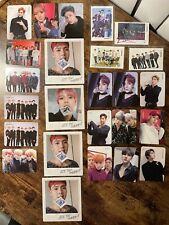 Monsta X Take one: Are you there?  photo cards and postcards + polaroids