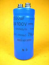 Capacitor -  2222 107 30152 -  1500uF -10+50% UN 100V