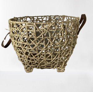Decorative Round Rattan Basket - Threshold designed with Studio McGee