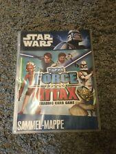 Star Wars Force Attax Serie 1 Sammelmappe mit 190 Karten