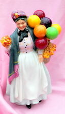"VINTAGE ""BIDDY PENNYfARTHING"" BALLOON LADY BY ROYAL DOULTON"