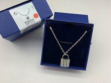 Swarovski Case Necklace - Crystal/Silver