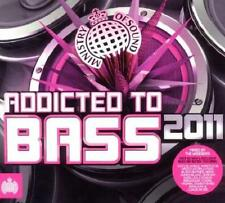 MINISTRY = addicted to bass 2011 = Skrillex/Katy/Wretch...=3CD= groovesDELUXE!