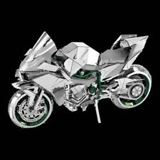 Fascinations Metal Earth ICONX Kawasaki Ninja H2R 3D laser cut kit model ICX021