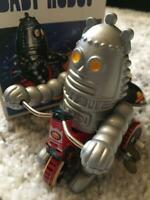Tinplate mainspring robot Retro Showa Tin Limited Vintage Rare toy Antique
