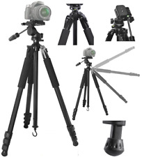 "80"" PROFESSIONAL TITANIUM ALLOY HEAVY DUTY TRIPOD FOR NIKON CANON REBEL SONY"