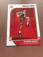 2019/20 Hoops Basketball: De'andre Hunter Rookie Card