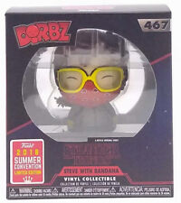 Funko Dorbz Stranger Things Steve with Bandana  #467 SDCC 2018 Shared Exclusive