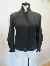 John Galliano Black  Wool Blend Jacket With Silk Lining, Mint Condition, Size 6