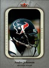 2003 Fleer Snapshot Football Card #100 Andre Johnson Rookie /500