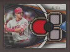 2018 Topps Tribute Mike Trout Triple GU Jersey 122/150 Angels