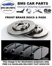 FORD FIESTA MK7 08-14 1.25 1.4 1.6 & TDCi  2 x  FRONT VENTED BRAKE DISCS & PADS