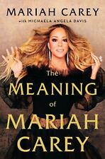 The Meaning of Mariah Carey By Mariah Carey... PAPERBACK NEW 2020 FREE SHIPPING